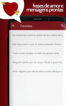 Amor em frases românticas e mensagens de paixão. screenshot 7