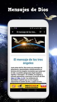 Mensaje de los tres angeles screenshot 1