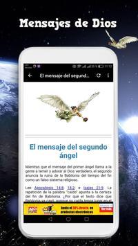 Mensaje de los tres angeles screenshot 4