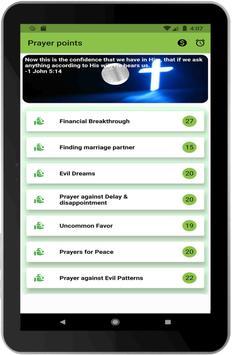 Prayer points with bible verses, powerful prayers 截图 6