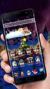 3D Merry Christmas Santa theme screenshot 2