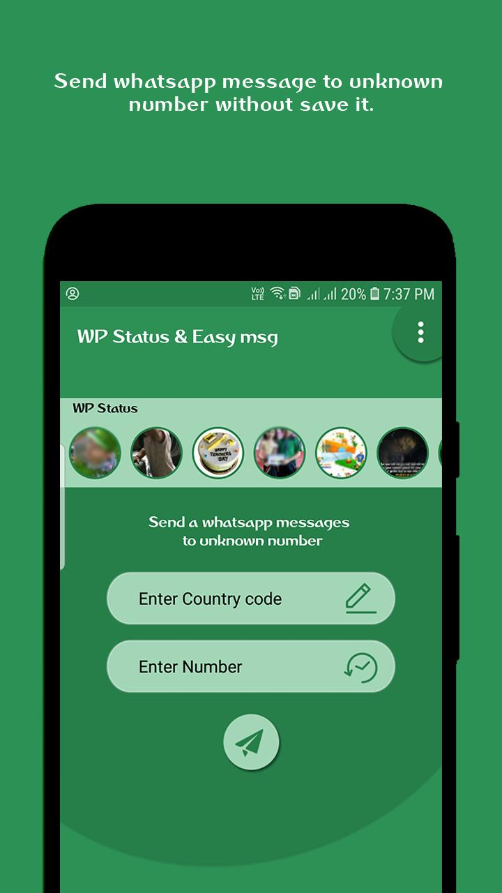 Open In Whatsapp Status Saver For Android Apk Download