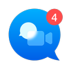 The Fast Video Messenger App for Video Calling icon