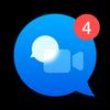 La aplicación Video Messenger icono