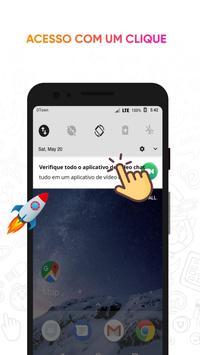 O aplicativo do Messenger em vídeo imagem de tela 5