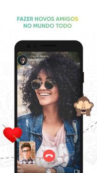 O aplicativo do Messenger em vídeo imagem de tela 2