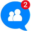 Messenger for Messages, Text and Video Chat simgesi