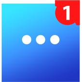 Messenger Go for Social Media, Messages, Feed 圖標