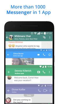 Messenger Go for Social Media, Messages, Feed 海報