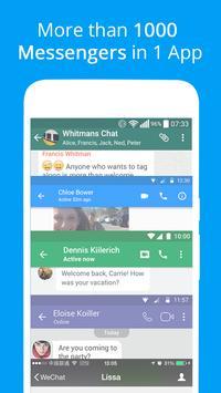 Mensajes, mensajes de texto y video chat gratis captura de pantalla 1