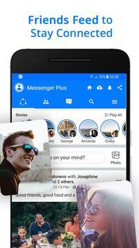 Messenger Go for Social Media, Messages, Feed 截圖 2