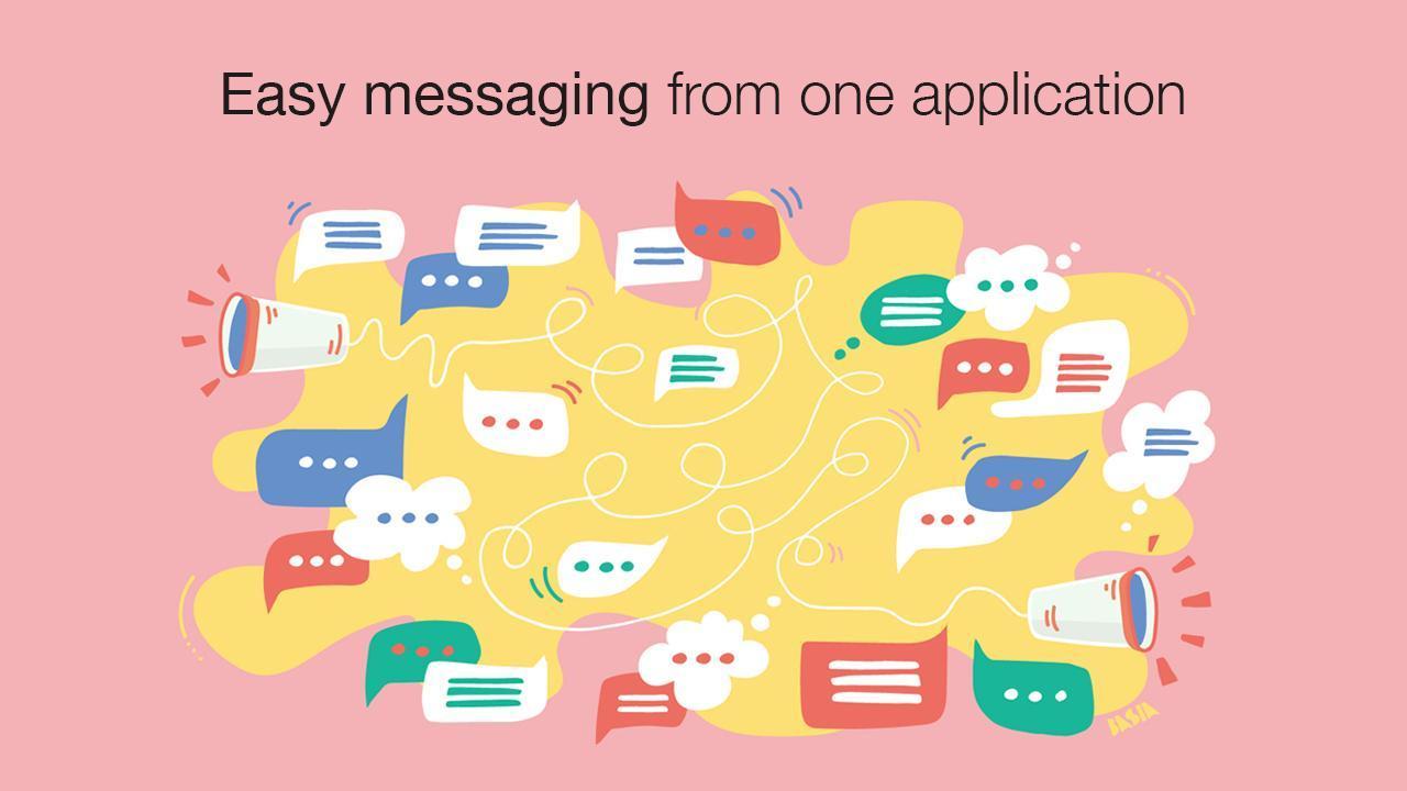 Messenger: Todo-en-Uno de mensajería y video for Android