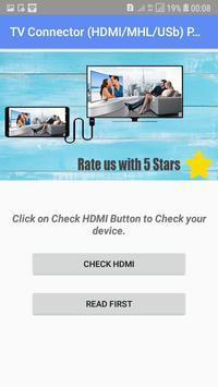 Tv Connector (HDMI /MHL/USB) screenshot 1