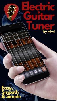 Pocket Electric Guitar Tuner poster