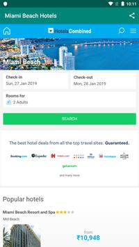 Miami Beach Hotels: Find & Compare For Great Deals poster