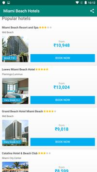 Miami Beach Hotels: Find & Compare For Great Deals screenshot 1