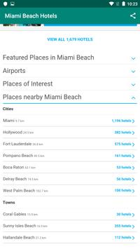 Miami Beach Hotels: Find & Compare For Great Deals screenshot 5