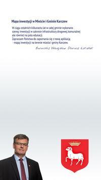 Mapa Inwestycji Karczew poster