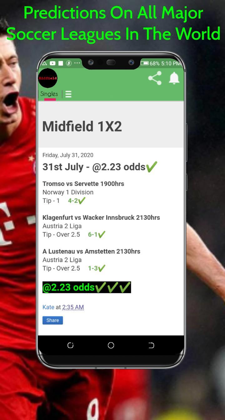 midfielder tips soccer betting