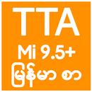 TTA MI Myanmar Font 9.5 to 11 APK