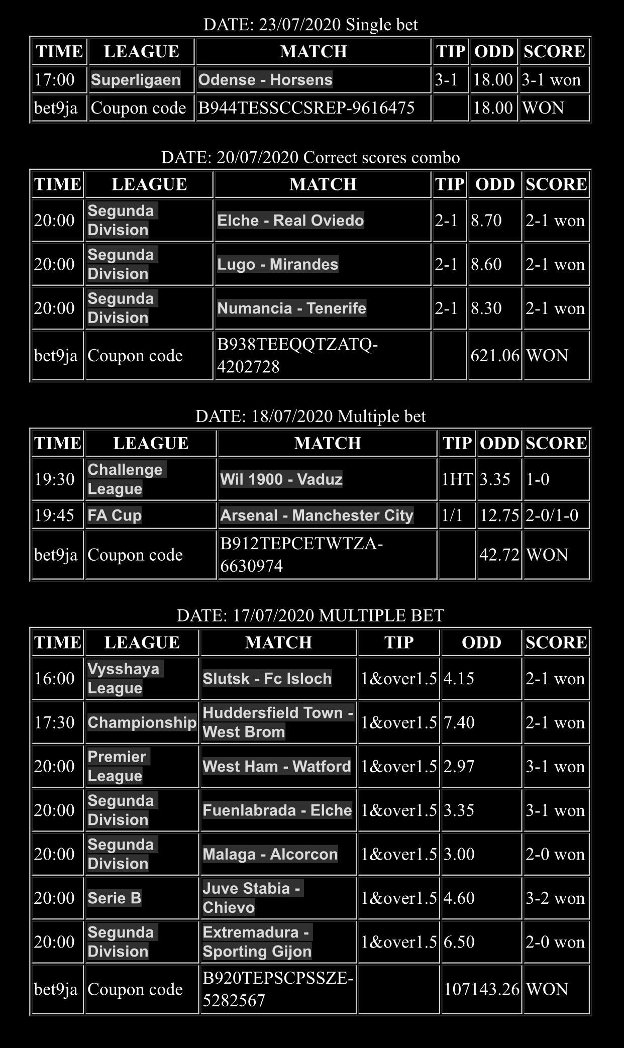 fixed odds coupon betting odds