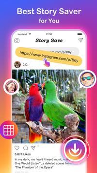 Video Downloader para Instagram e salvar fotos Cartaz