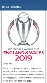 Cricket Updates - T 20 World Cup 2020 poster