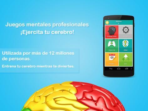 Juegos mentales profesionales Poster