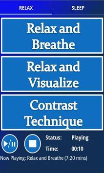 Stress Reduction Audio plakat
