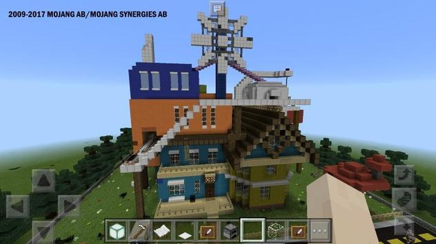 Maps Hello Neighbor for MCPE ★ screenshot 5
