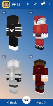 Best Skins Minecraft imagem de tela 10