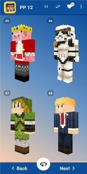 Best Skins Minecraft imagem de tela 12
