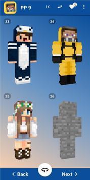 Best Skins Minecraft imagem de tela 13