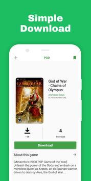 PSP Games Downloader screenshot 1