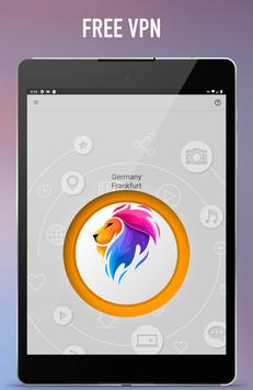 Lion Vpn - Free & Secure Fast & Unlimited VPN screenshot 14