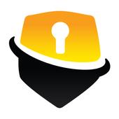 Gratis VPN Onbeperkt snel veilig Android VPN-icoon
