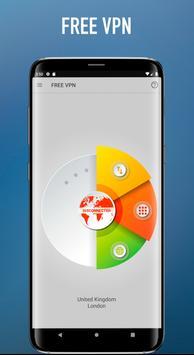Gratis VPN Onbeperkt snel veilig Android VPN screenshot 1