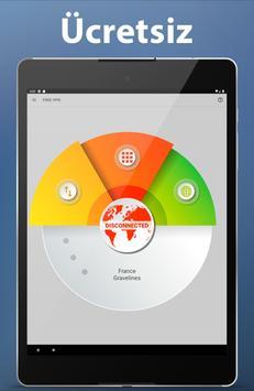 VPN Android rapide, illimité sécurisé et gratuit capture d'écran 9