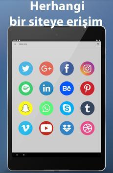VPN Android rapide, illimité sécurisé et gratuit capture d'écran 11