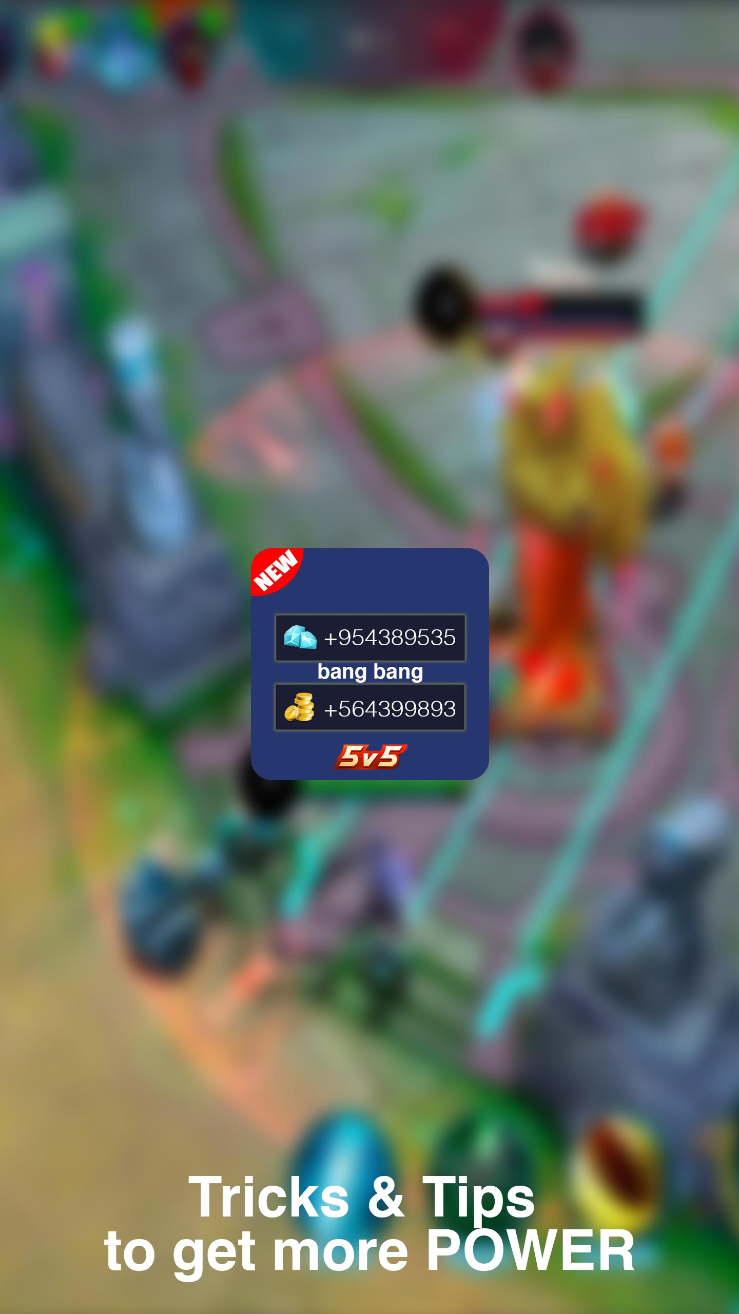 Trick & Tips for Mobile Legend Bang bang Easily for Android