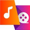 MP3 dönüştürücü - Video mp3 cevirme, Müzik kesici simgesi
