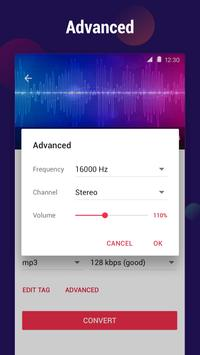 MP3 Converter - mengubah video ke mp3, pemotong screenshot 5