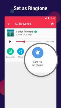 MP3 Converter - mengubah video ke mp3, pemotong screenshot 7