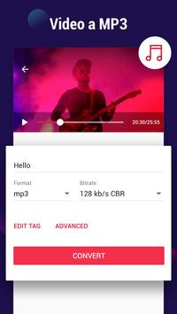 Convertidor de vídeo a MP3 Poster