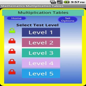 Maths Multiplication Table screenshot 15
