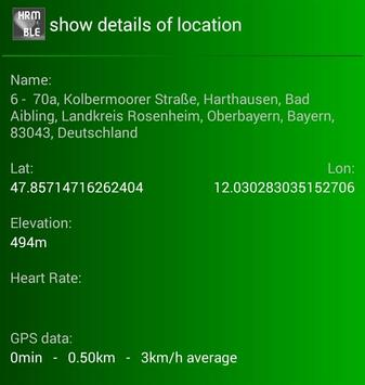 Query OSM service for BLE-HRM screenshot 2
