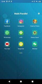 Multi Paralelo - Múltiplas Contas e App Clone Cartaz