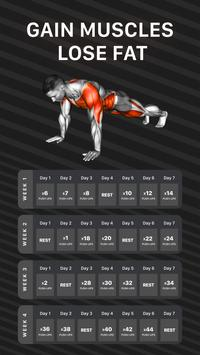 Muscle Booster Workout Planner-poster