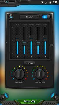 Equaliser dan peningkat bass screenshot 2