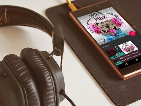 Fuel Music Player screenshot 2
